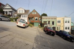 A Steep San Francisco Street