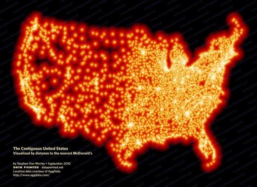 Distance To McDonald's