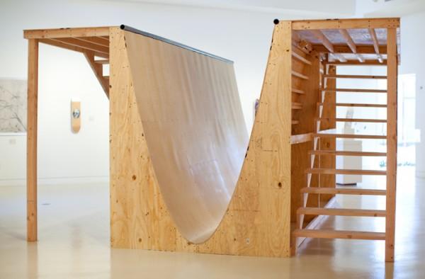 Lewicki's Parabolic Skate Ramp