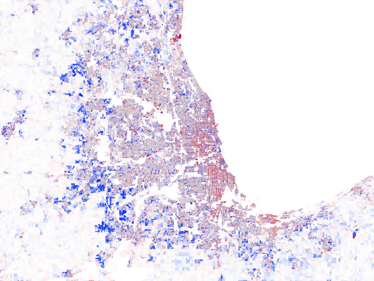 Chicago Population Change